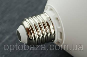 LED лампа 30Вт пластик E27 5000K, фото 3