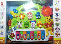 Развивающая игрушка музыкальное пианино Little Bear Cartoon Piano YNA/5-3