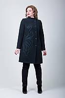 Женское демисезонное кашемировое пальто 2-357/9 Sergio Cotti