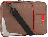 """Коричневая сумка для ноутбука до 10,2"""" Crown Genuine SBG4410BN"""