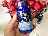 Цинк Puritan's PrideZinc for Acne 100 tab