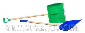 Лопата снегоуборочная пластиковая