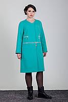 Женское демисезонное пальто кашемир Sergio Cotti