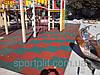 Резиновая плитка для спорта
