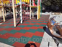 Резиновая плитка для спорта, фото 1