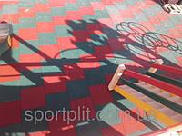 Антискользящая резиновая плитка., фото 1