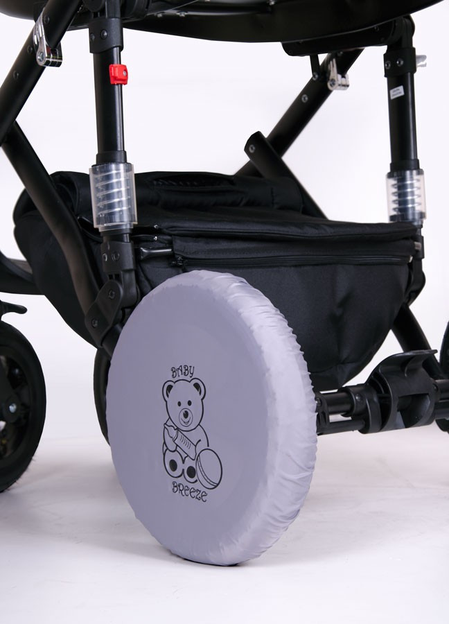 Чехлы на колеса коляски на два колеса