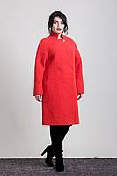 Женское демисезонное шерстяное пальто 2-447L  Sergio Cotti