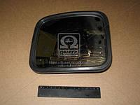 Дзеркало бокове КамАЗ, МАЗ, ГАЗ R400,210х180 пластик.корп. додат. сфера (покупн. Росія), фото 1