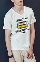 """Мужская футболка """"Loading generation"""""""