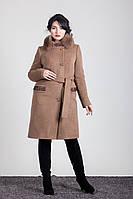 Пальто зимнее мех песец Sergio Cotti  1-092IT