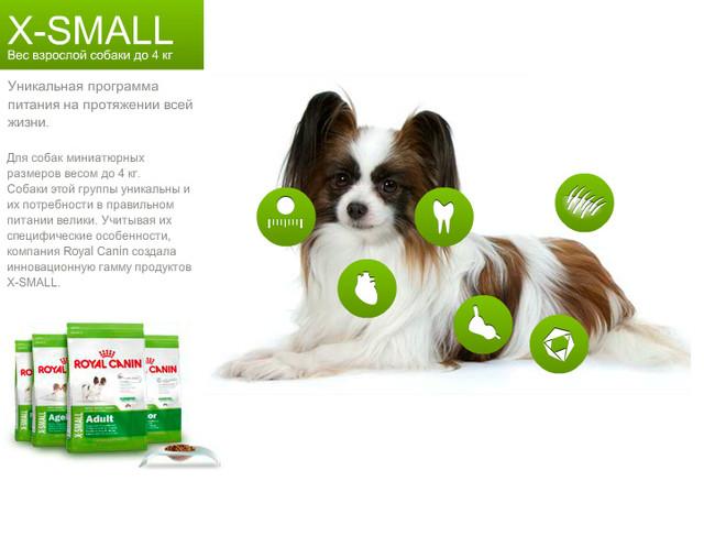 Royal Canin X-Small для собак вагою до 4 кг