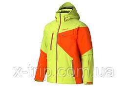 Горнолыжная куртка Marmot Tower Three Jacket (71540) Green Lime - Sunset Orange (4687), M