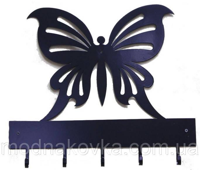 Вешалка-ключница Бабочка