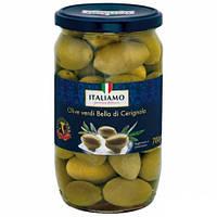 Оливки з кісточками Italiamo Olive verdi Bella, 700г