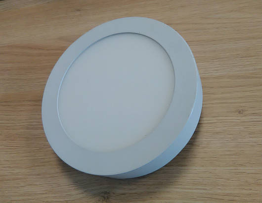 Светильник накладной LED  Downlight  12W 6400K  диаметр 170 мм круглый  алюминиевый корпус