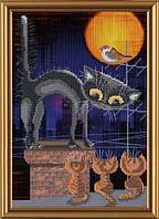 Набор для вышивания нитками на канве с фоновым рисунком Воспитатель СР 4051