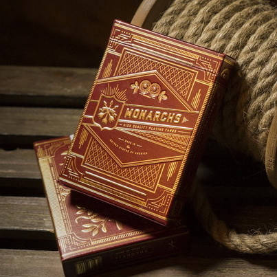 Monarch Playing Cards (Red) | Карты игральные, фото 2