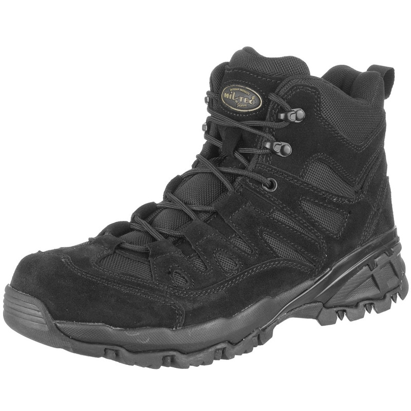Ботинки (кроссовки) тактические  Sturm Mil-Tec Squad Stiefel 5 Inch black
