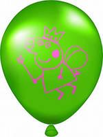 """Воздушный шар ассорти пастель Свинка Пеппа  12""""(30 см)"""