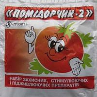 Фунгицид Помидорчик-2 (40 г) Акробат + Янтарная к-та АгроОпт+