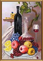 Набор для вышивания нитками на канве с фоновым рисунком Сиеста СВ 3081