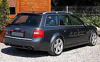 Спойлер козырек тюнинг Audi A6 C5 Avant стиль RS6