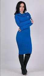 Трикотажное стильное женские платье по фигуре Ксюша