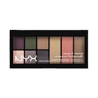 NYX GTP02 Go-To Palette Bon Voyage - Палетка для глаз и лица