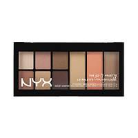 NYX GTP01 Go-To Palette Wanderlust - Палетка для глаз и лица