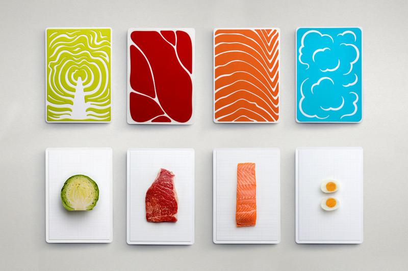 Набір обробних дощок Qualy Slice Cutting Board