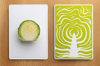 Набір обробних дощок Qualy Slice Cutting Board, фото 3