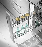 Inoxa Карго для кухні, серія Gold 150мм  Hettich 1104Y/15-45 H=500mm