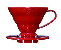 Пуровер HARIO V60 01 пластик VD-01R для заваривания кофе