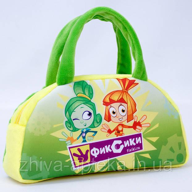 Фикси сумка зеленая