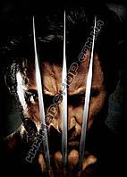 Картина 40х60 см Росомаха Wolverine железные когти