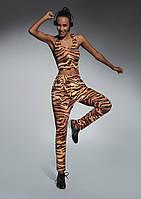Спортивные брюки для фитнеса Cool BB 3-M, цветной принт