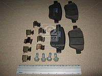Колодки тормозные дисковые задние комплект Volkswagen, Audi, Skoda
