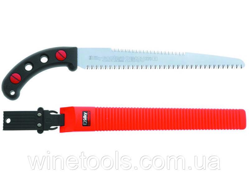 Пила (ножовка) в ножнах Silky Gomtaro 2dangiri 270-8/+10. Зубья пилы с двух сторон.
