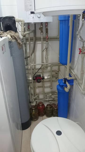 Ежегодный сервис системы водоочистки в коттедже, Осокорки 38