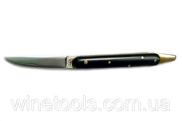 Нож Due Buoi для прививки, с латунной косточкой