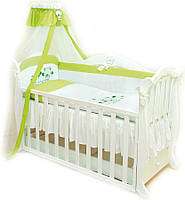 Twins Детский постельный комплект Twins Evolution A-018 Лето, 4 эл. (green)