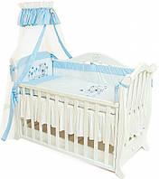Twins Детский постельный комплект Twins Evolution A-016 Лето, 4 эл. (blue)