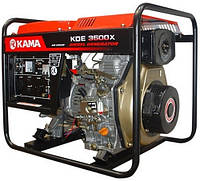 Дизельный генератор KAMA KDE3500X