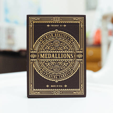 Карти гральні | Medallion Playing Cards, фото 2