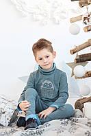 Джемпер для мальчика с вышивкой