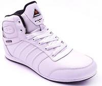 Зимние кожаные кроссовки Restime, полный мех, теплая и стильная модель.  44