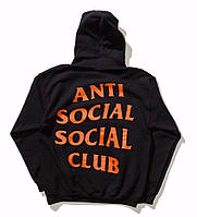 Худи ASSC | Anti Social Social Club Paranoid Undefeated
