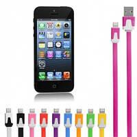 Кабель USB для Apple (iPhone 5, iPad 4 Mini) (1 м), mix color