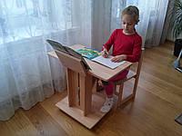 Парта-стол трансформер мобильный